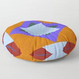 Kilim flower Purple  #homedecor #midcenturymodern #midcentury Floor Pillow