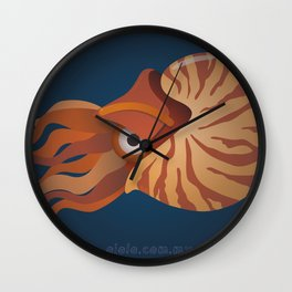 nautilus eye Wall Clock