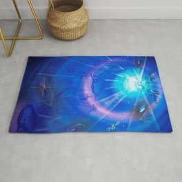 Zodiac sign Pisces Rug