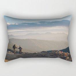 Mountain Dates Rectangular Pillow