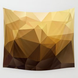 Pattern - Coffee Wall Tapestry