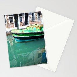 Boats of Venice Stationery Cards