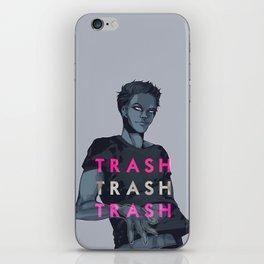 T R A S H iPhone Skin