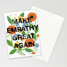 Make Empathy Great Again Stationery Cards