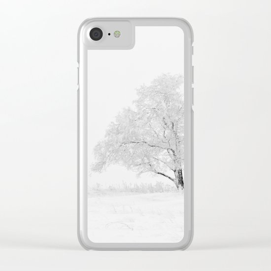 Christmas season Clear iPhone Case