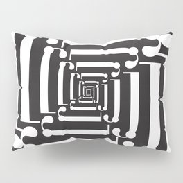 "Spin - The Didot ""j"" Project Pillow Sham"