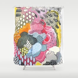 the bee's knees Shower Curtain