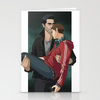 sterek Stationery Cards featuring Sterek by callahaa