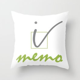 imemo Throw Pillow