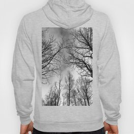 Black and White Canopy Hoody