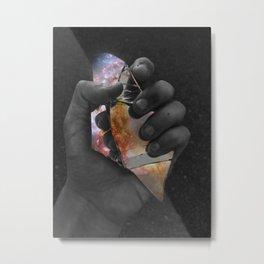 Hold the Galaxy Close Metal Print