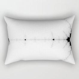 detail on mandelbrot set Rectangular Pillow
