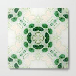 Green Leaf - Green Garden - Relax Metal Print