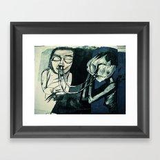 re:4 Framed Art Print