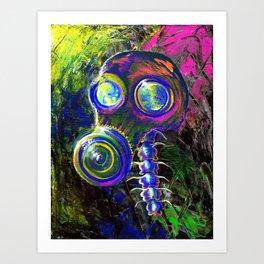 Chromatic Nightmare Art Print