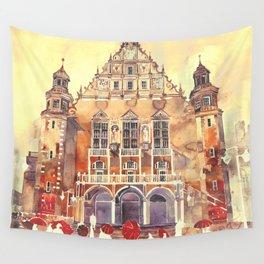 Poznań Wall Tapestry