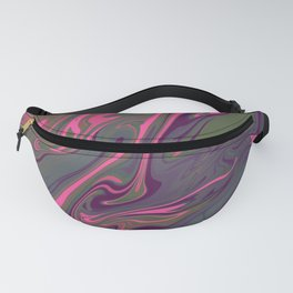 Pink Mountain Fanny Pack