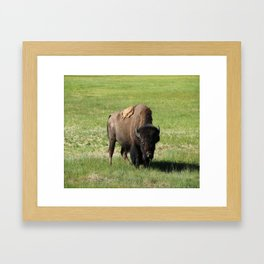A Big Guy Framed Art Print