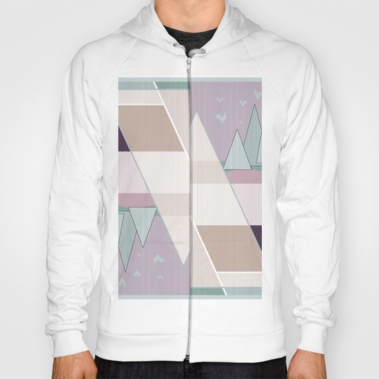 Pastel tone . Abstraction . Hoody