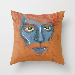 Redbeard Throw Pillow