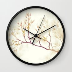 Soft Spring Whisper Wall Clock