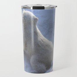 poar bear cub Travel Mug