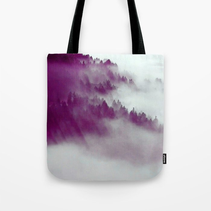 Forest Fog #society6 #decor #buyart Tote Bag