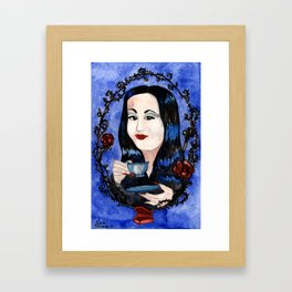 Normal Is An Illusion Framed Art Print