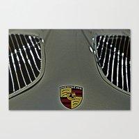 porsche Canvas Prints featuring Porsche by LeicaCologne Germany