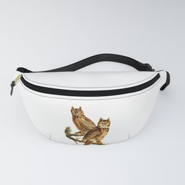 Great Horned Owl - Hoot Owl Fanny Pack