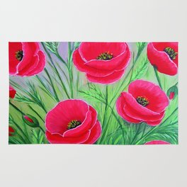 Poppies-8 Rug