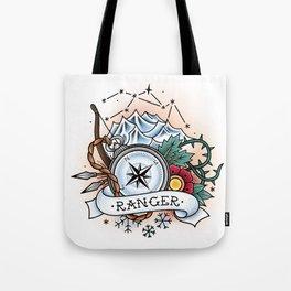 Ranger - Vintage D&D Tattoo Tote Bag