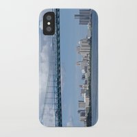 detroit iPhone & iPod Cases featuring Nearing Detroit by Ann Horn