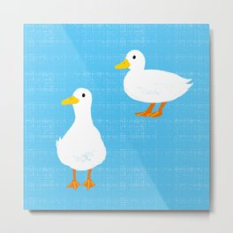 Call Duck Metal Print