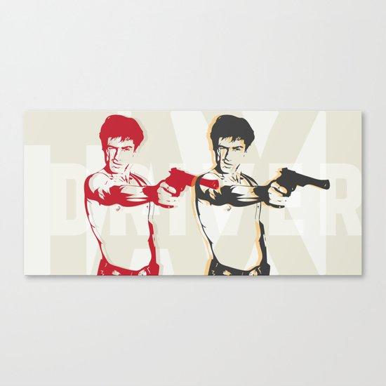 Double Travis Canvas Print