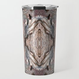 Petrified Wood in Abstract Travel Mug