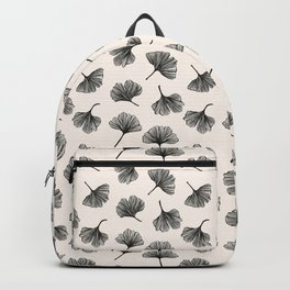 Gingko biloba vintage pattern Backpack