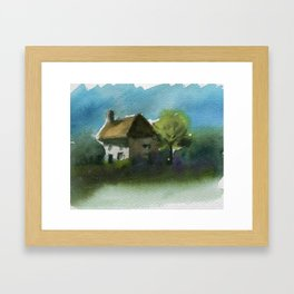 A Place in the Country Framed Art Print