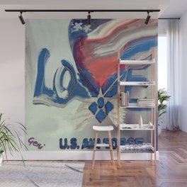 Air Force Brat Wall Mural