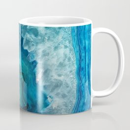 Blue Agate Coffee Mug