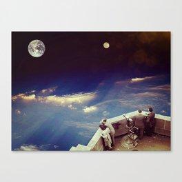 Master view... Canvas Print