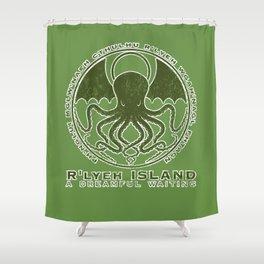 R'lyeh Island Shower Curtain