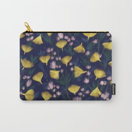 Ginkgo Blossoms Carry-All Pouch