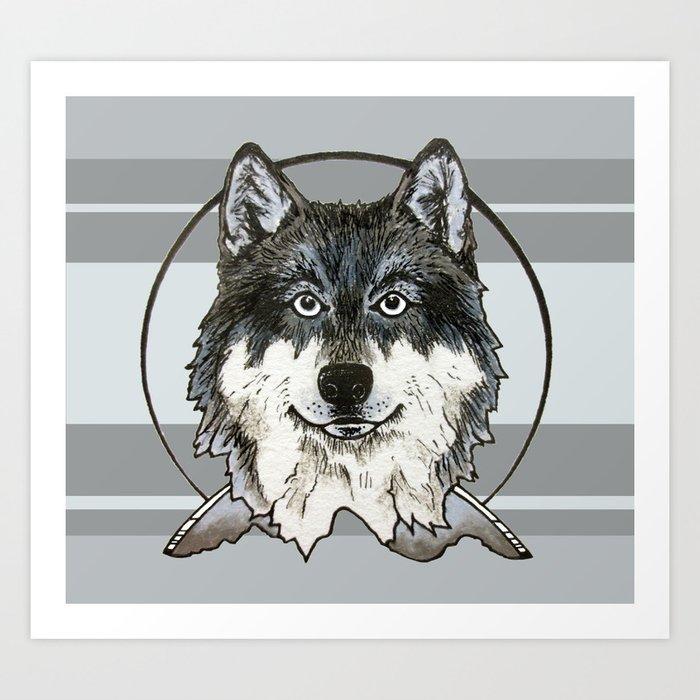 Mountain Mutt Art Print