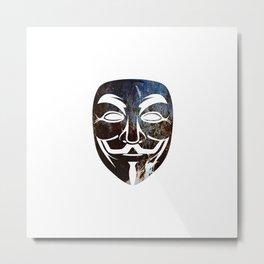 Anon Metal Print