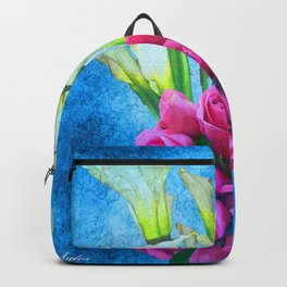 Calla Lillies and Roses Backpack
