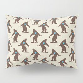 Bigfoot LOVE Pillow Sham