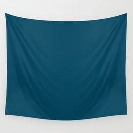 Encouraging Dark Blue Solid Color Pairs To Sherwin Williams Loyal Blue SW 6510 Wall Tapestry