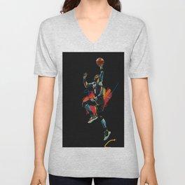 Kyrie Basketball Sports Star Brooklyn Net Unisex V-Neck