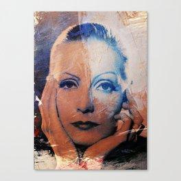Divas - Greta Canvas Print